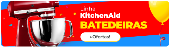 Batedeiras Kitchenaid em promoção